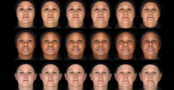 Balayage facial