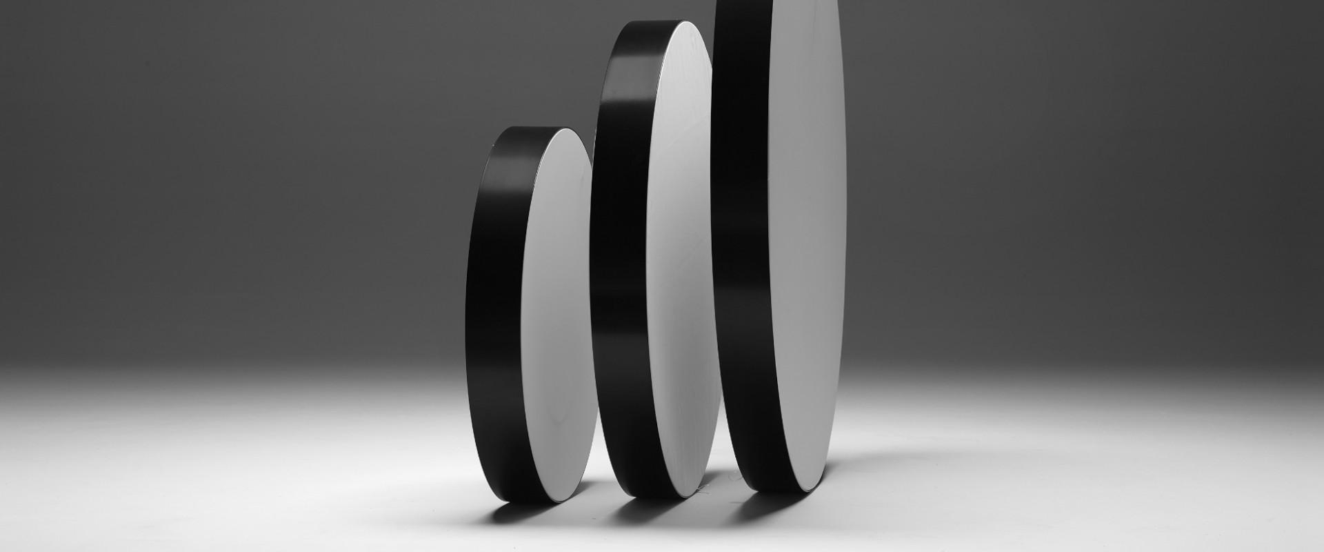 SEG fabric frames circle