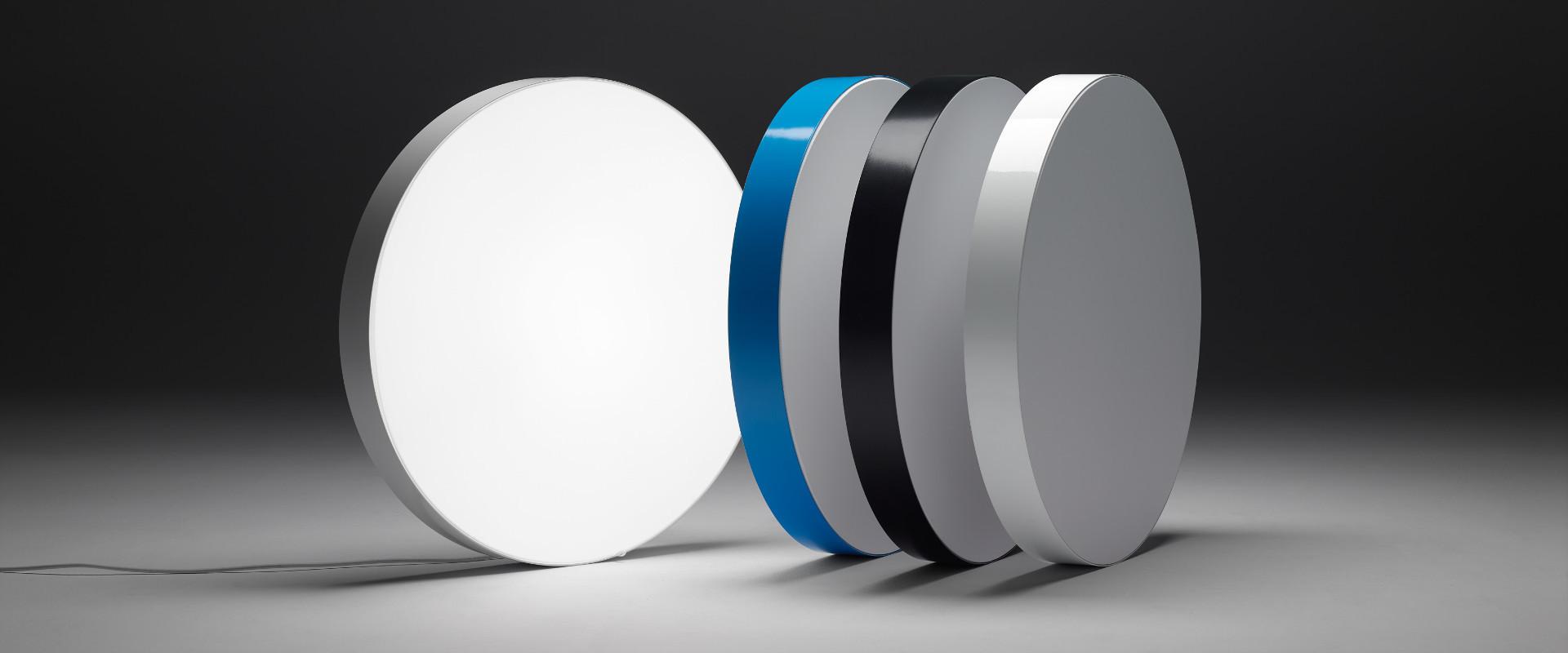 Circular lightbox