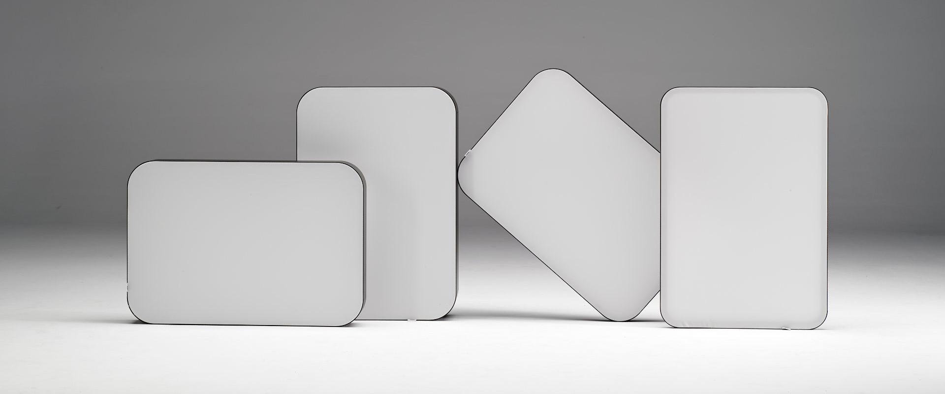 Smartframe round corners fabric frames